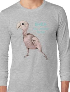 Rhea the Naked Birdie Long Sleeve T-Shirt