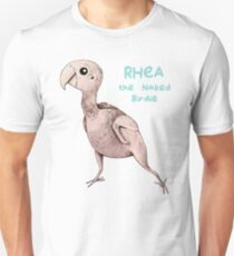 Rhea the Naked Birdie Unisex T-Shirt