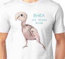 Rhea the Naked Birdie Unisex T-Shirt
