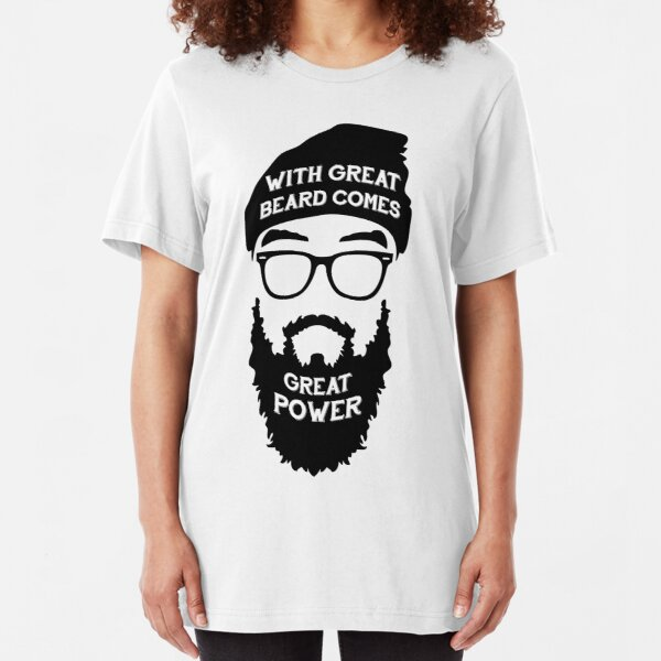 Beard Power! Slim Fit T-Shirt