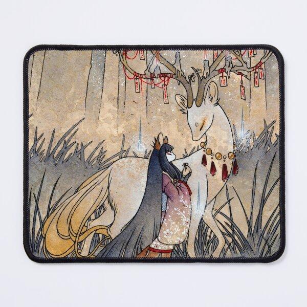 The Wish - TeaKitsune Fox Yokai Mouse Pad