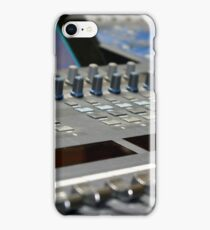 Mixing Console iPhone Case/Skin