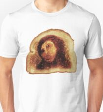 Jesus Restoration Botch Miracle Toast -blanche Unisex T-Shirt