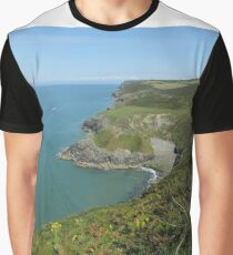 Cardigan Coastlines Graphic T-Shirt