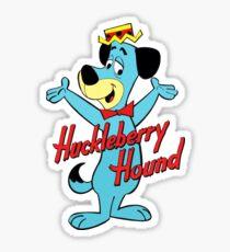 Huckleberry Hound Sticker
