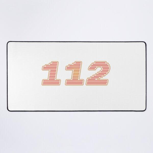 Number 112 Desk Mat