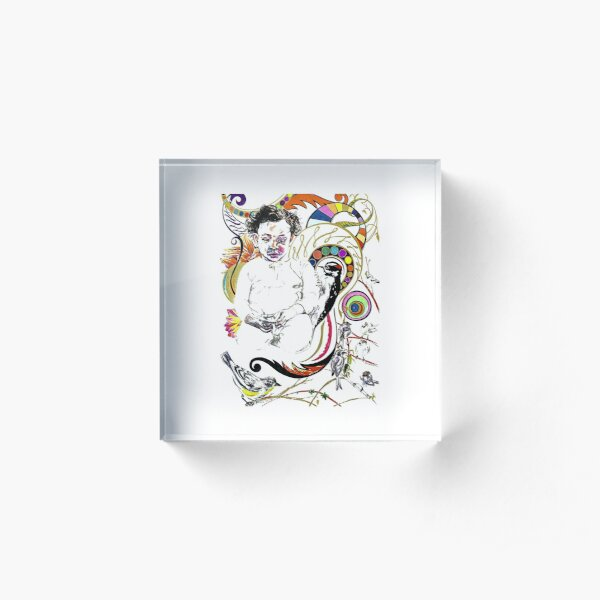 Best Series Opo iki Mbuh  Acrylic Block