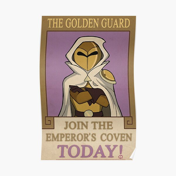 The Golden Guard Poster Poster