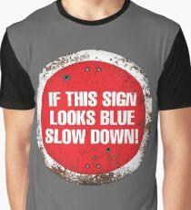A physics joke. V 2.0 (round) Graphic T-Shirt