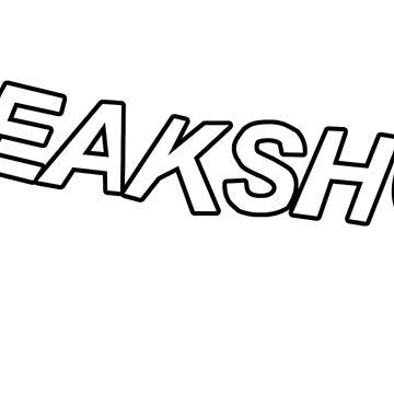 """Freak Show"" Black Aesthetic Design by WickedWays"