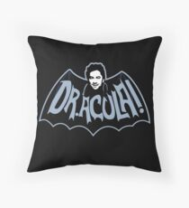 Dr. Acula! Throw Pillow