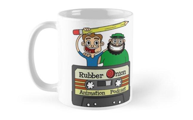 RubberOnion Animation Podcast Mug