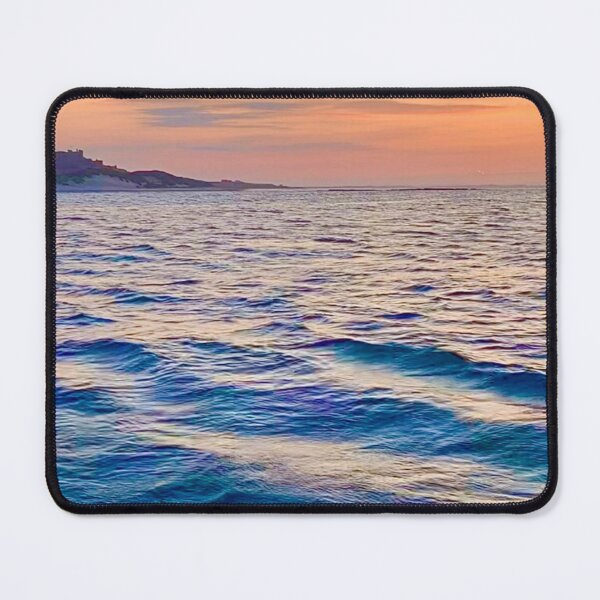 Ocean waves at sunset no.2  Mouse Pad
