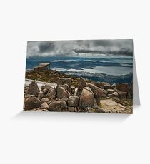Clouds over Hobart Greeting Card