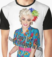 TAMMIE BROWN - WALKING CHILDREN IN NATURE Graphic T-Shirt