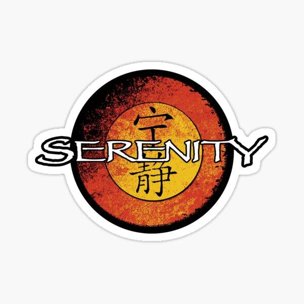 Serenity Logo Sticker