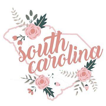 Estado floral de Carolina del Sur de baileymincer