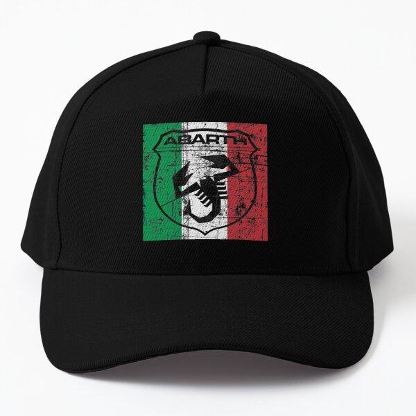 Abarth Shield on Italy flag Baseball Cap