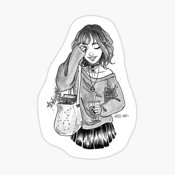 BUBBLE TEA WITCH Sticker