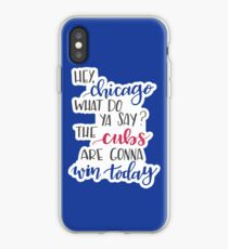 Hey Chicago - Go Cubs Go iPhone Case