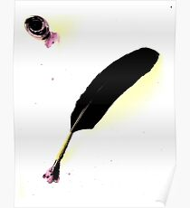 Quill & Ink Poster