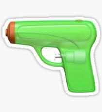 Pegatina Pistola de agua Emoji