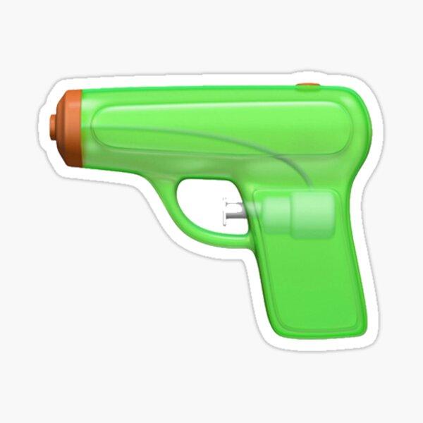 Pistola de agua Emoji Pegatina