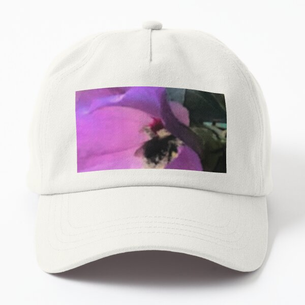 Flower And Bumble Bee  Nature Gifts Dad Hat