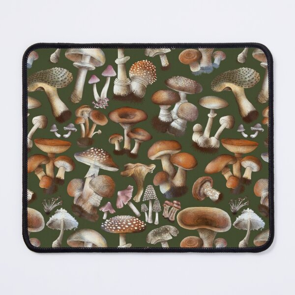 Toadstools and Mushrooms Mouse Pad
