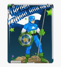 Captain Central America iPad Case/Skin