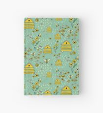 Honey Comb Hives Hardcover Journal