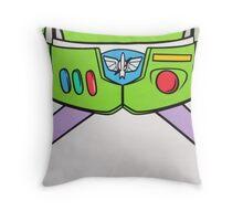 Buzz Lightyear buttons Throw Pillow