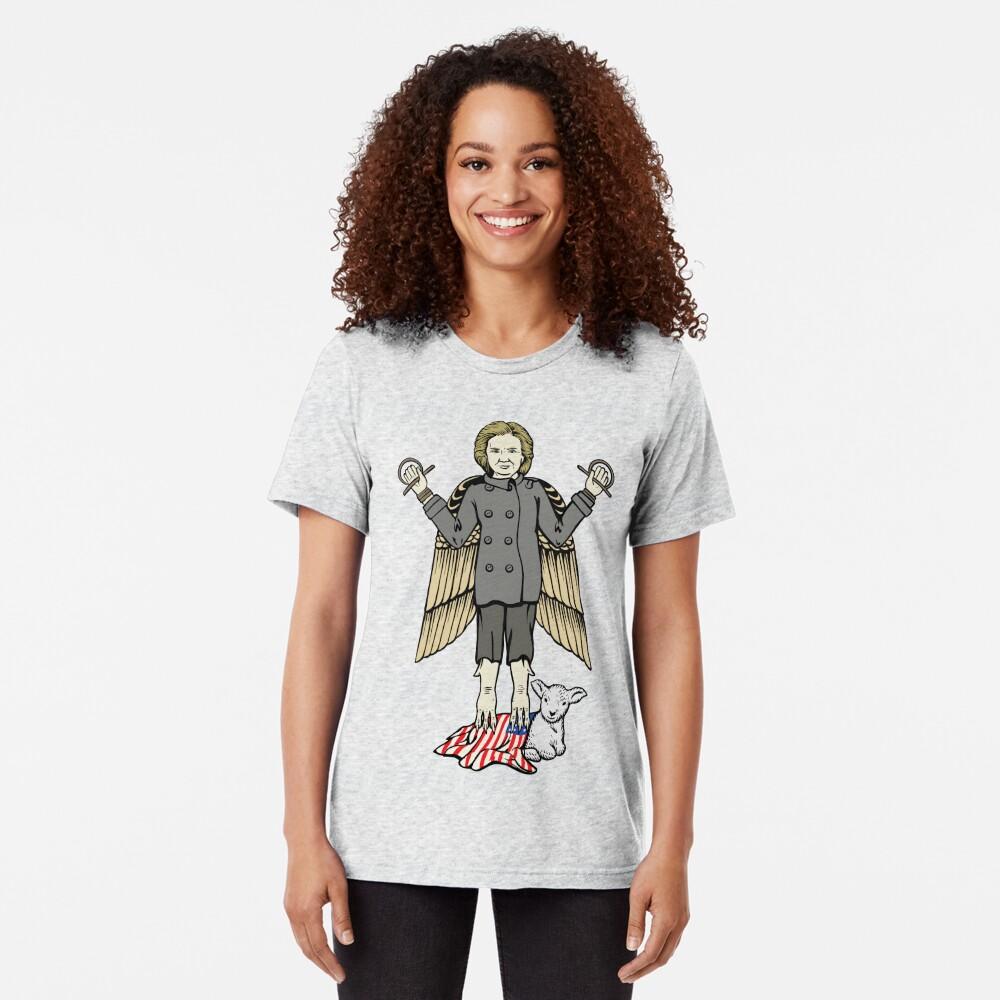 Hillary Lilith Clinton Tri-blend T-Shirt