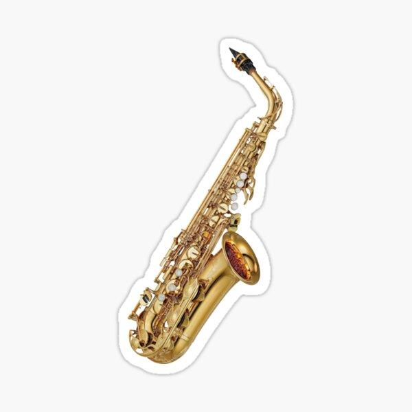Sax on the Beach Alto Saxophone Sticker