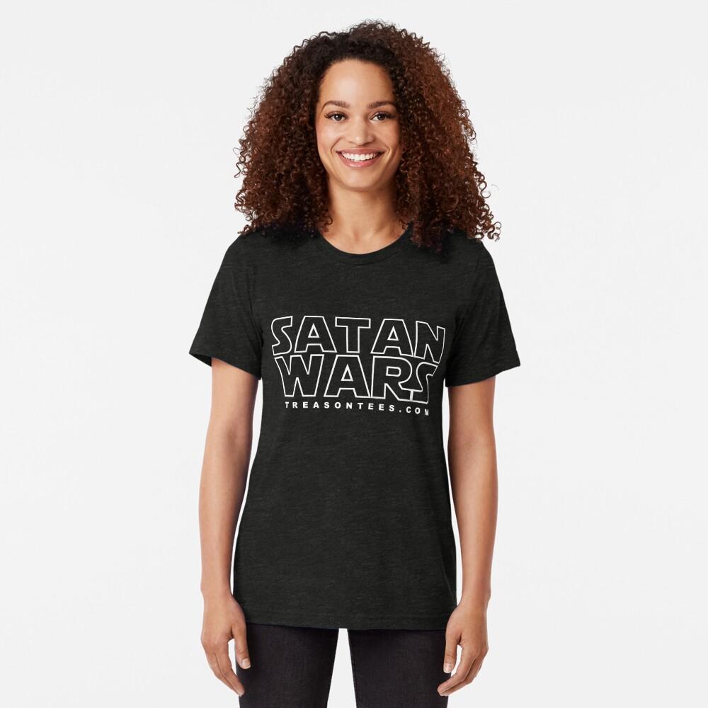 Satan Wars Tri-blend T-Shirt
