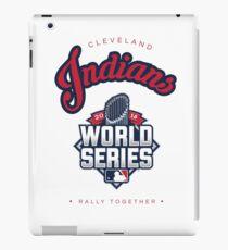 Cleveland Indians World Series #RallyTogether iPad Case/Skin