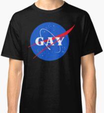 Nasa-Gay-Pride-Logo Classic T-Shirt