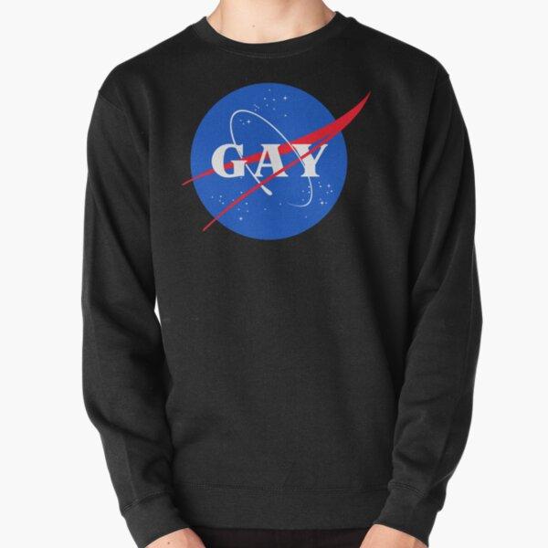 Nasa Gay Pride Logo Pullover Sweatshirt