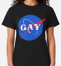 Nasa Gay Pride Logo Classic T-Shirt