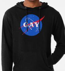 Nasa Gay Pride Logo Lightweight Hoodie