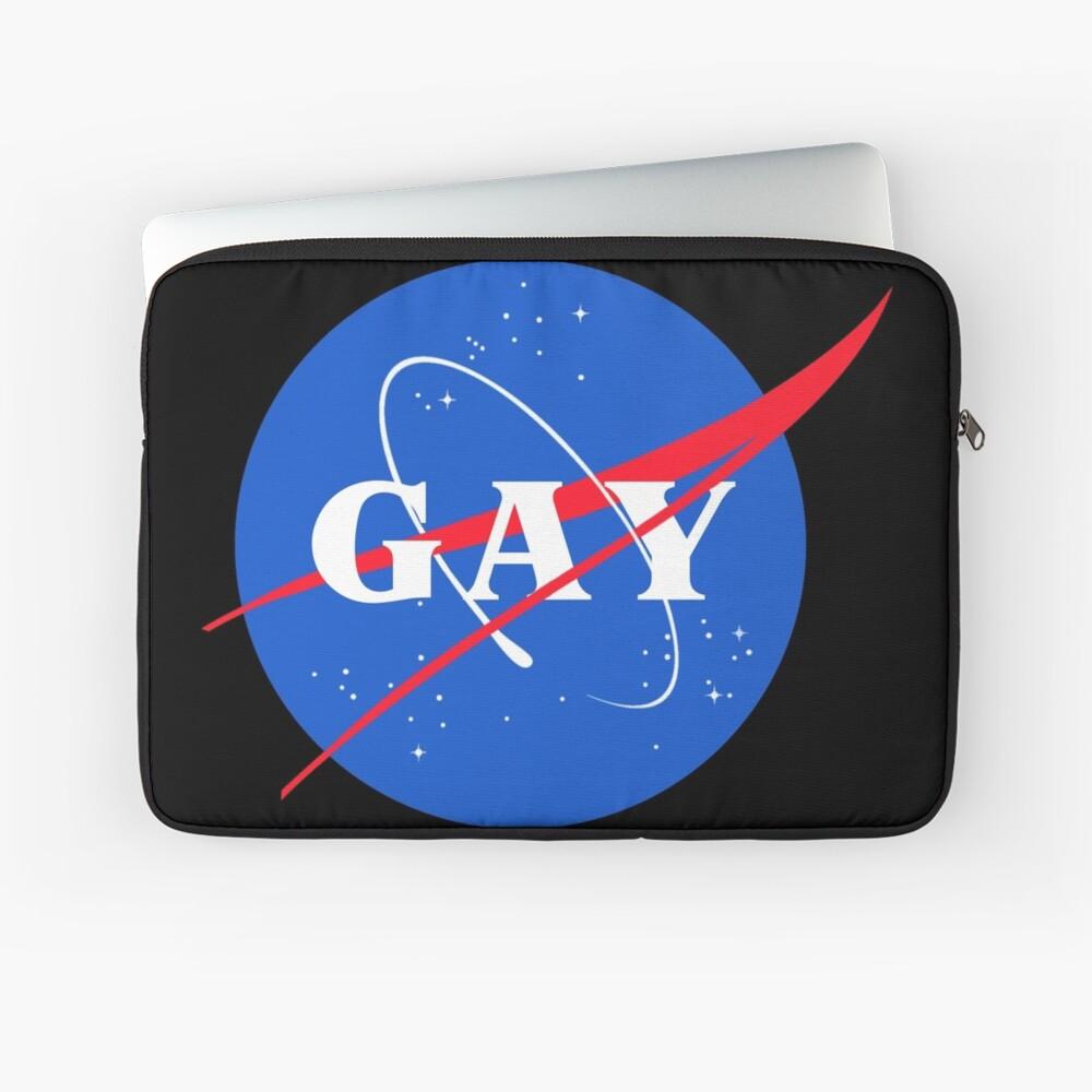 Nasa-Gay-Pride-Logo Laptoptasche