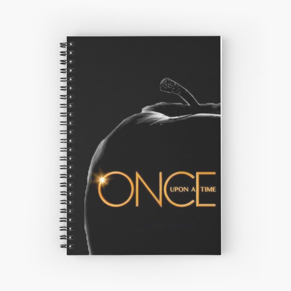 The Lands Of Once Upon A Time Spiral Notebook