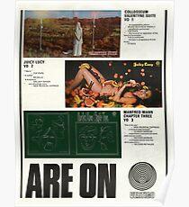 Vertigo Swirl Launch Advert Poster 1969 Poster