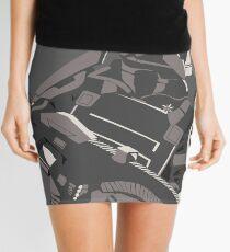 88 - Graphic Mini Skirt