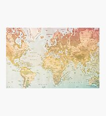 Pastel World Photographic Print