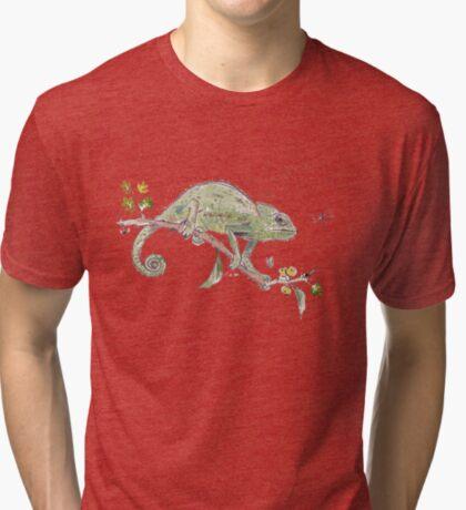 The colourful world of Chameleons Tri-blend T-Shirt