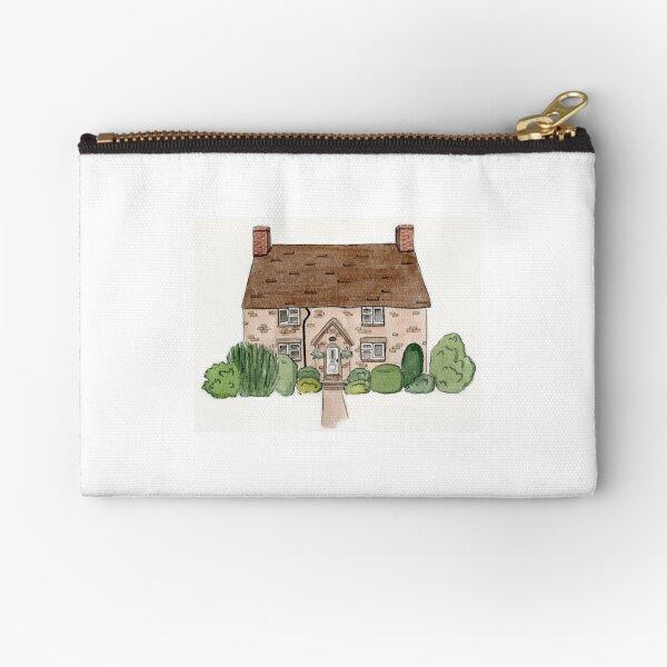 Brick Cottage  Zipper Pouch
