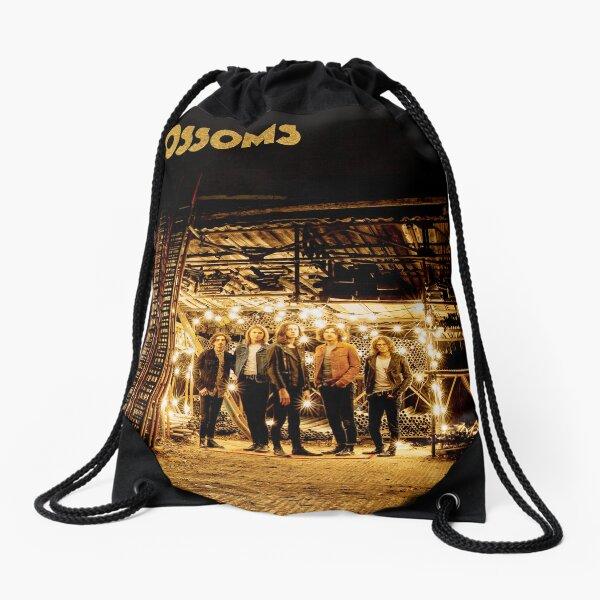 in golden blossom t shirt Drawstring Bag