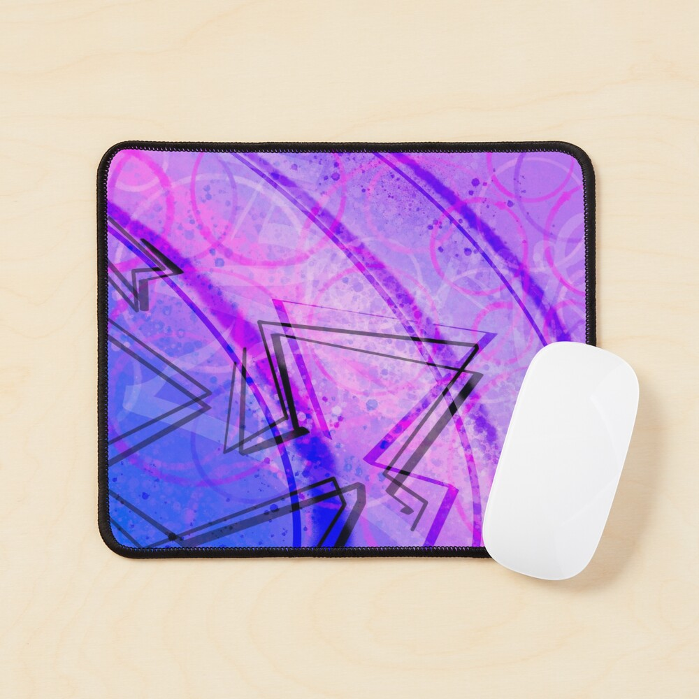 Space Sunflower Night Sky Mouse Pad
