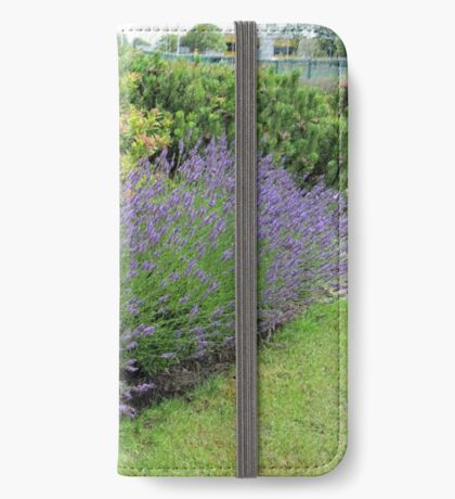 Lavender Welcome iPhone Flip-Case